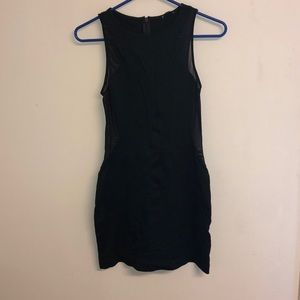 Express Bodycon Black Dress